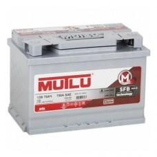 MUTLU Calcium Silver LB3.75.072.A о.п, низкий 75 Ач